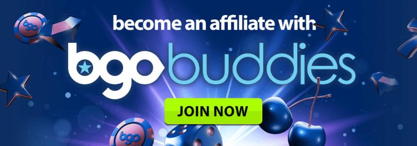 BGO Buddies Affiliate Program