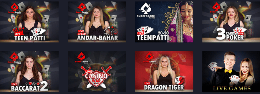 Live Dealers at Casino Disco