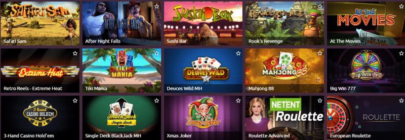 Popular TornadoBet Casino Games