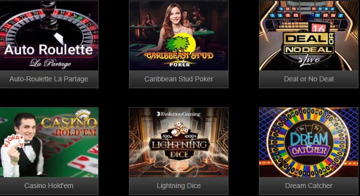 Live Dealer Games at GoCrazy Casino