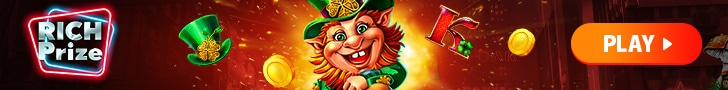 Get a €400 Welcome Bonus + 25 Free Spins at Rich Prize Casino