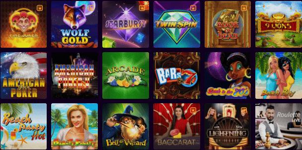 Popular Dux Casino Games