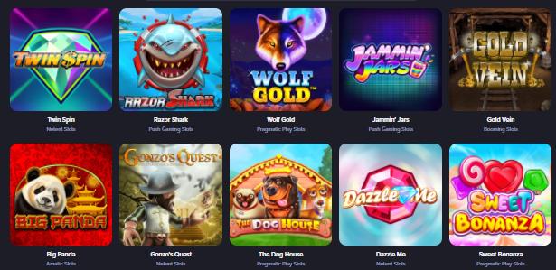 Popular CasinoRex Games