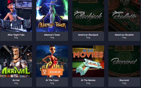 Popular WildTornado Casino Games