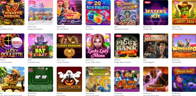 Popular Games at YOJU Casino