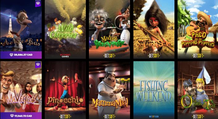 Popular Rocket Play Casino Games