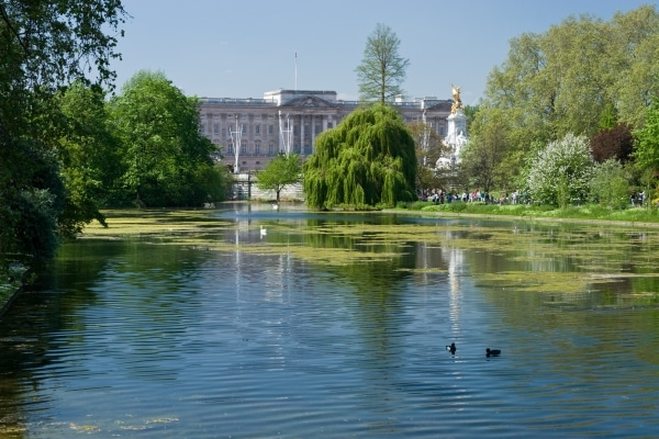 St James Park in London