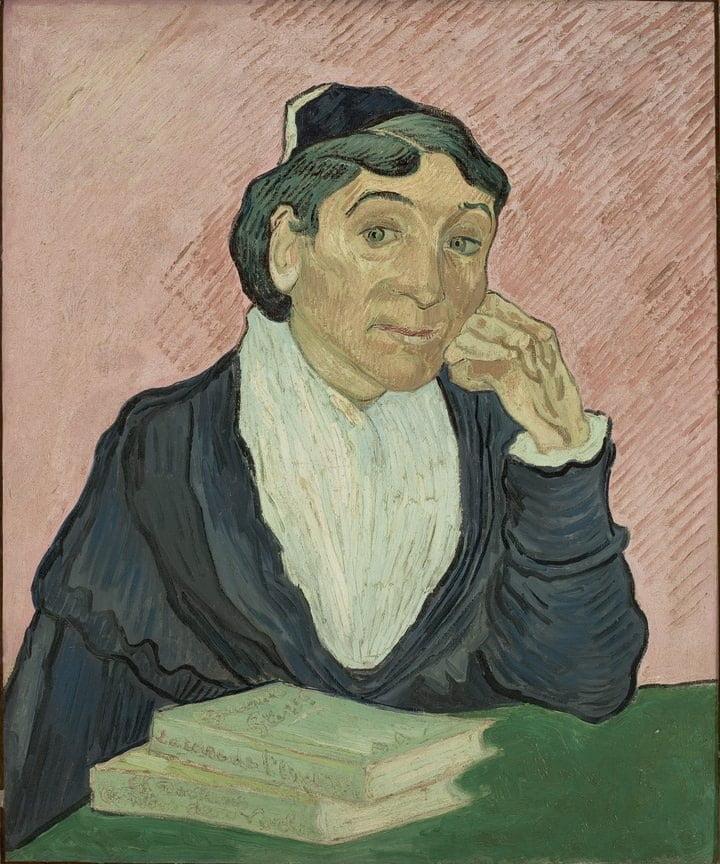 Vincent van Gogh, L'Arlésienne 1890. Museu de Arte de São Paulo Assis Chateaubriand – MASP (Sao Paulo, Brazil)