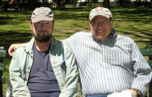 Ingo Swann and Paul H. Smith in 2005
