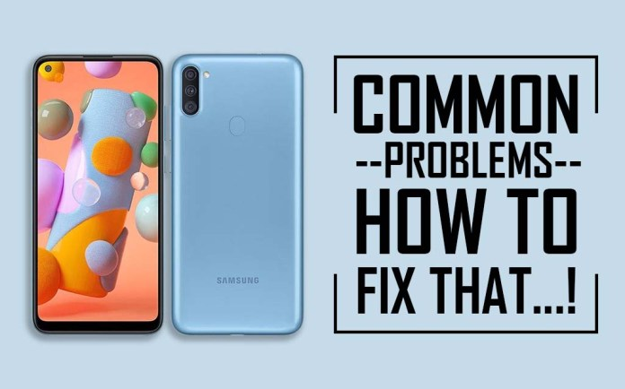 Common Problems In Samsung Galaxy A11 How To Fix That