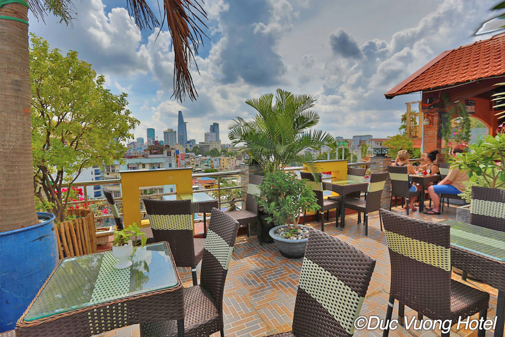 The View Rooftop Bar At The Duc Vuong Hotel Guide Vietnam