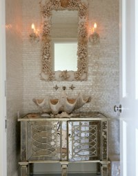 20 Practical & Pretty Powder Room Decorating Ideas