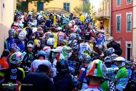 Gli atleti in attesa della partenza (Sestri Levante 2013) (Guidi Rosas Bike Team)
