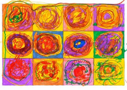 Il trattato dei colori- di Wassily Kandinsky 🍏 Ri-visto da Maria