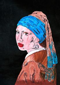 La ragazza con l'orecchino di perla – di Johannes Vermeer 🍏 Ri-visto da Caterina