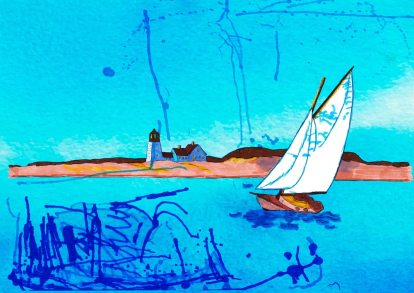 La tappa lunga – Edward Hopper 🍏 Ri-visto da Adelina