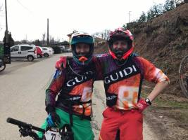 Guidi Rosas on the 4Enduro circuit
