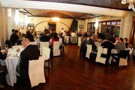 Cena aziendale 2015 - Pensionamento di Serafino Gradi