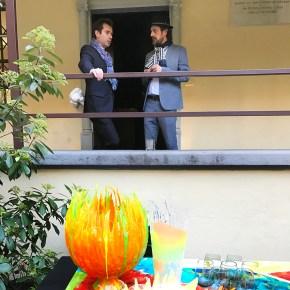 Daniele Guidi con Alessandro Ciffo