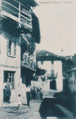 La piazzetta (Villa Durio e Pinet Turlo)