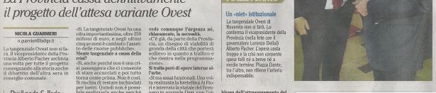 9.10.2011_Pacher: la tangenziale ovest di Rovereto non serve (!)