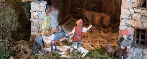 21 dicembre: Giuseppe a Maria stanno arrivando alla grotta…