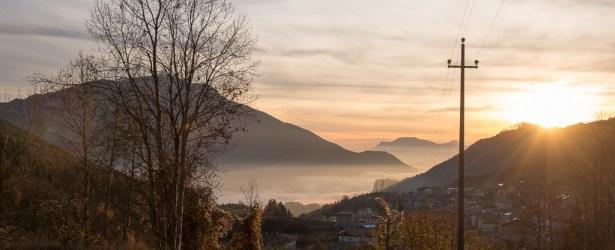 In attesa del tramonto a Ronzo-Chienis 2015
