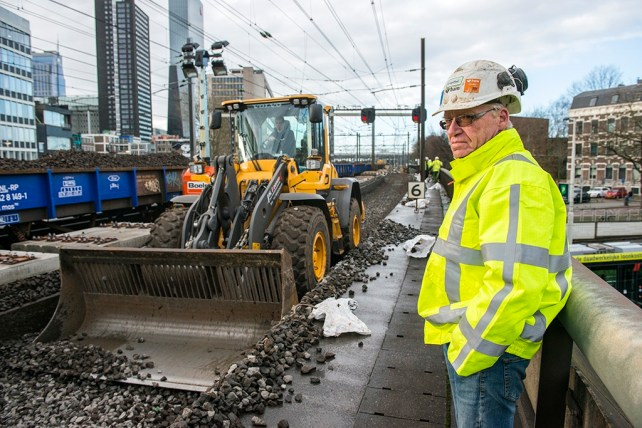 man Overseeing Constructing & Maintaining Infrastructure
