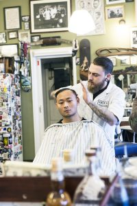 Barber and Customer