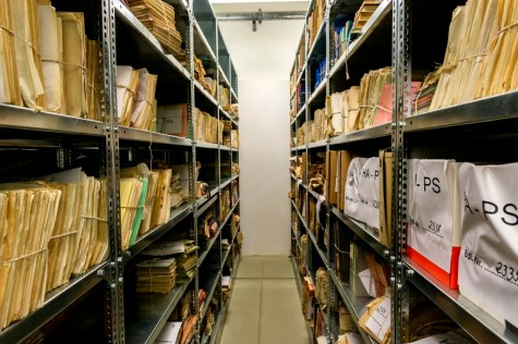 Dossiers Stored inside the Stasi Archives