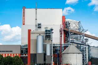 Reportage: Amer Centrale Power Plant: New Plant Exterior
