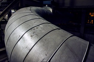 Reportage: Amer Centrale Power Plant: Exhaust Pipes