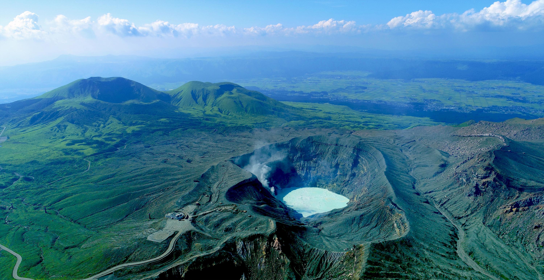 阿蘇中岳火山口 | Mt Aso Nakadake Crater -Guidoor-
