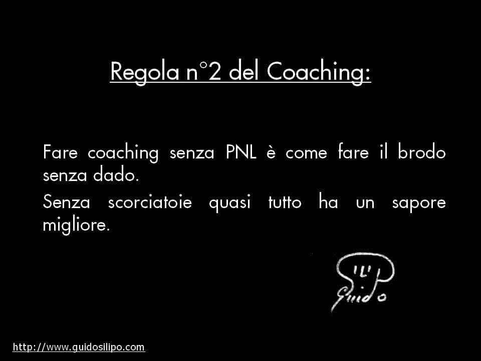 Fare coaching senza PNL è come fare il brodo senza dado. Senza scorciatoie quasi tutto ha un sapore migliore.