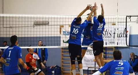 Volley Serie C Maschile. L'Ariete piega il Carloforte e chiude al 4° posto il girone di andata