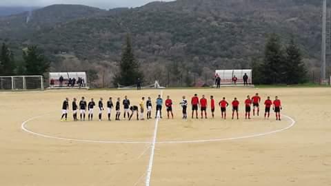 """Calcio 1a Categoria C. Pareggio a Ovodda dell'Abbasanta che """"perde"""" il primato"""