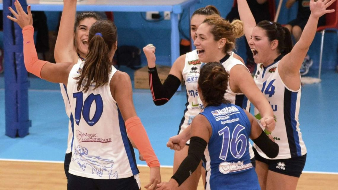 Punto Volley Oristanese Femminile e Maschile a cura di Santina Raschiotti
