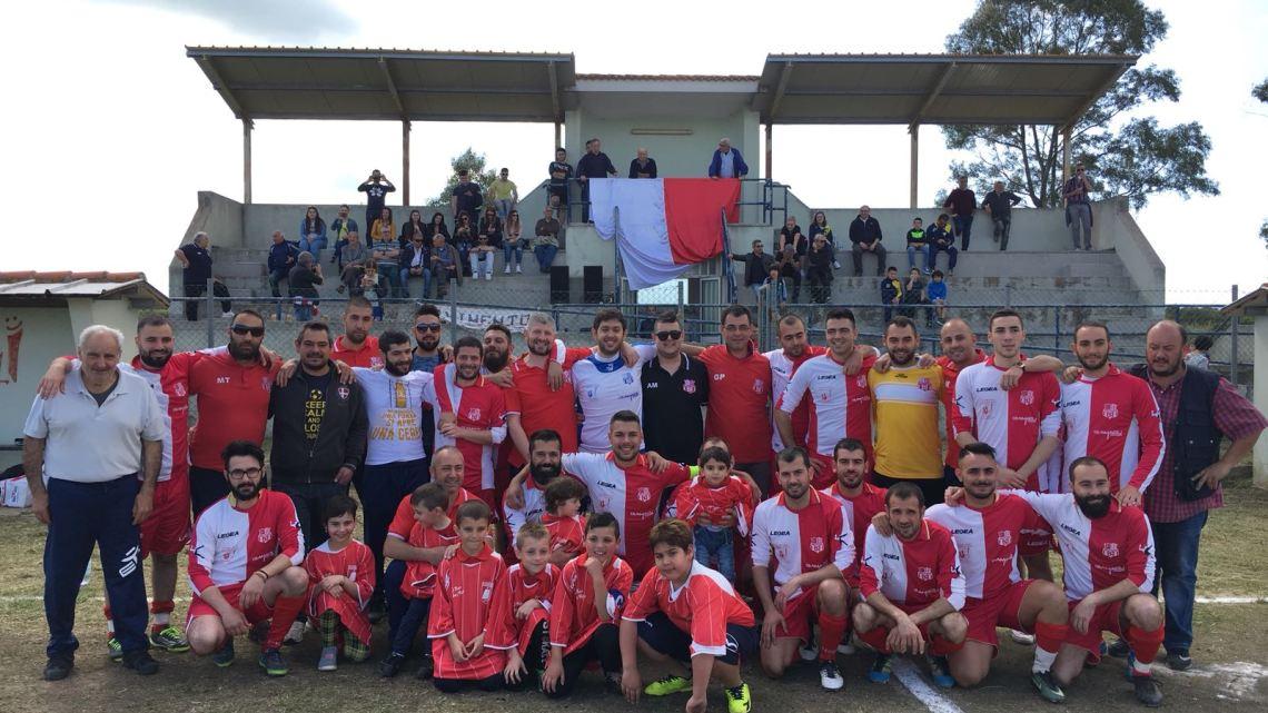 """Calcio 2a Categoria G. Aidomaggiorese e Sedilo si dividono la posta in palio nel derby fra """"cugini"""""""
