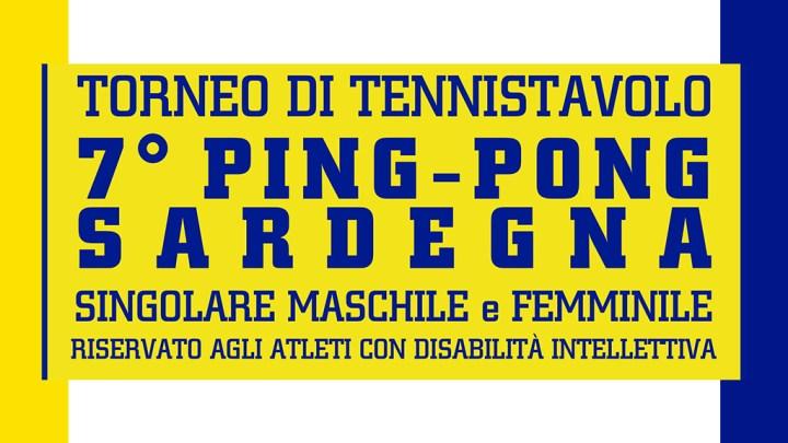 """Tennistavolo Paralimpico. Torneo 7° """"Ping-Pong Sardegna"""" – Norbello 08 dicembre 2018"""