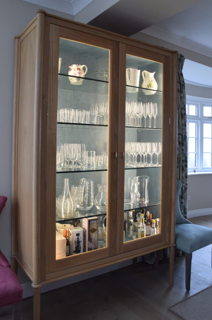 Glass Display Cabinet Exceptional Design for a Living