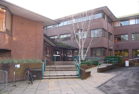 Guildford Borough Council Offices at Millmead.
