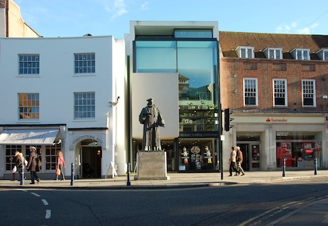 A team of master-planners will help the council and the people of Guildford shape the town centre for the near future.