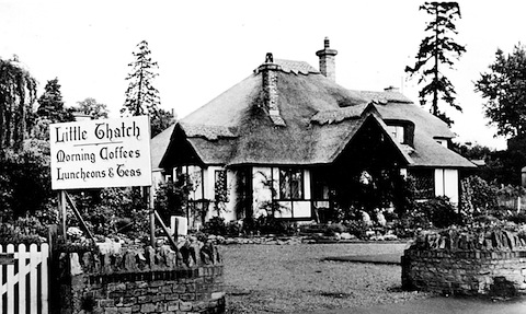 Do you remember this tea shop a few miles from Guildford?