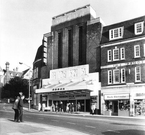 The Odeon cinema when it was 'at the top of the town'.