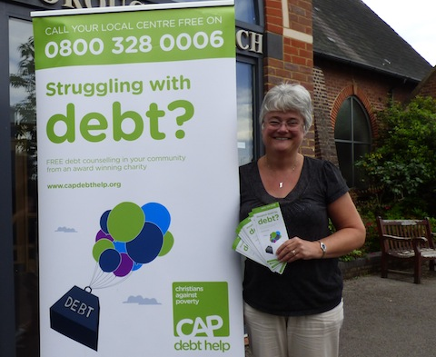 CAP's Guildford centre manager Jane Seals.