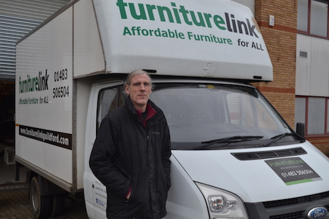 Like some of his colleagues Tony McNamara was a volunteer before becoming a full-time driver forFurniture Link.