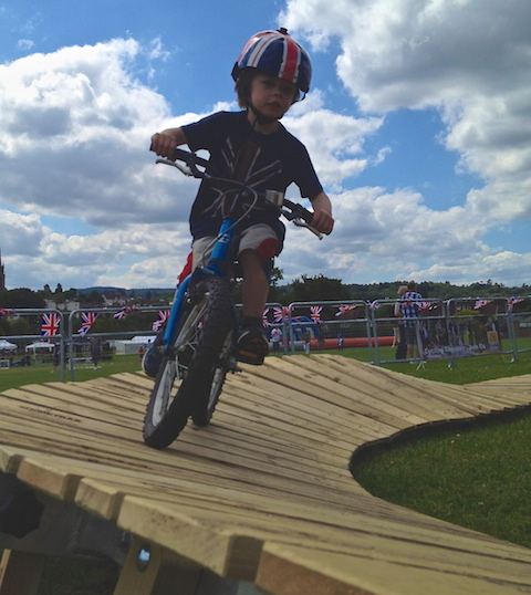 Try out the pump track at The Big Wheel - Spring into Action event on Saturday, May 30, at Bannisters Field near Guildford Tesco store.
