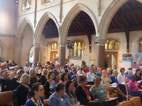 Some of the delegates at the conference that was held at St Saviour's Church.