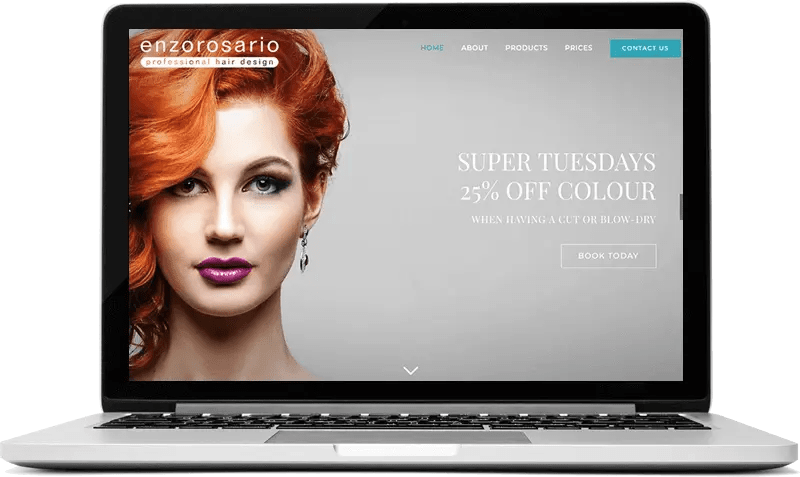 Hair Salon Website in Guildford