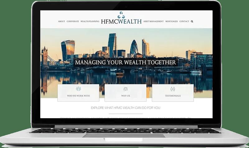 Wealth Management Company Website